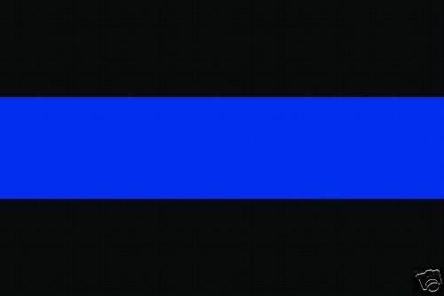 THIN BLUE LINE FOP POLICE SUPPORT STICKER DECAL VINYL