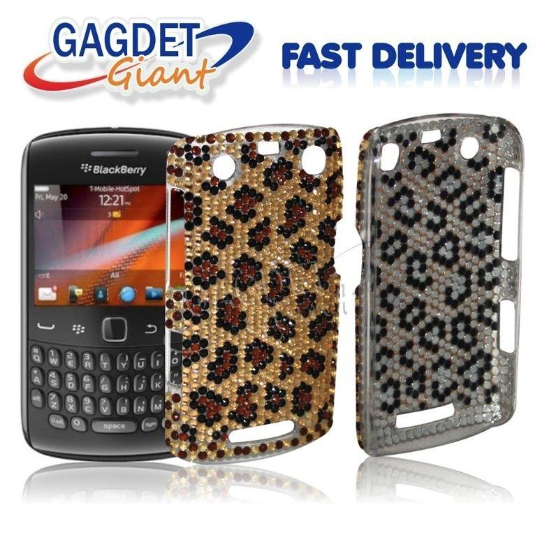 Bling Diamond Back Case Cover FOR Blackberry Curve 9360 + SP