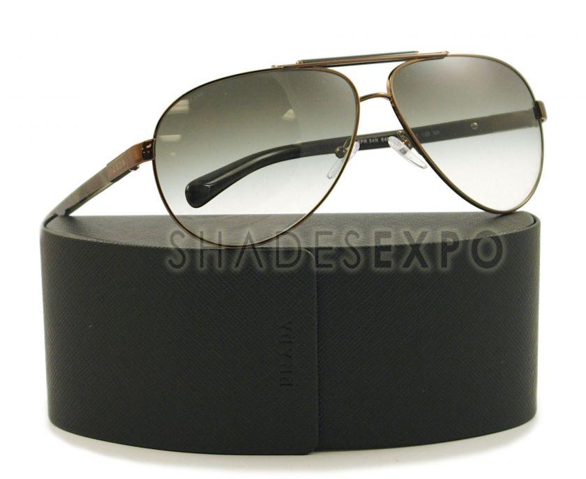 NEW Prada Sunglasses SPR 54N BLACK 7OI 4M1 SPR54N 64MM AUTH