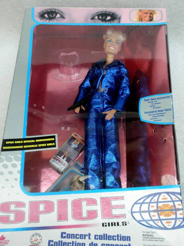 Barbie baby spice girls emma concert collection 1998