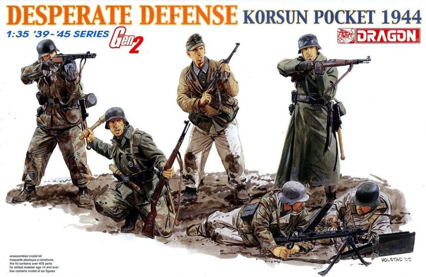 Dragon 1/35 6273 WWII German Desperate Defense Korsun Pocket 1944 (Gen
