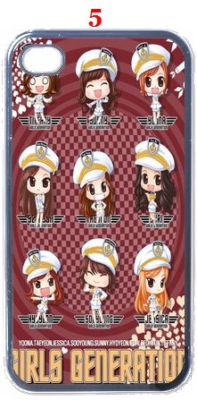 SNSD Girls Generation iPhone 4 Hard Case